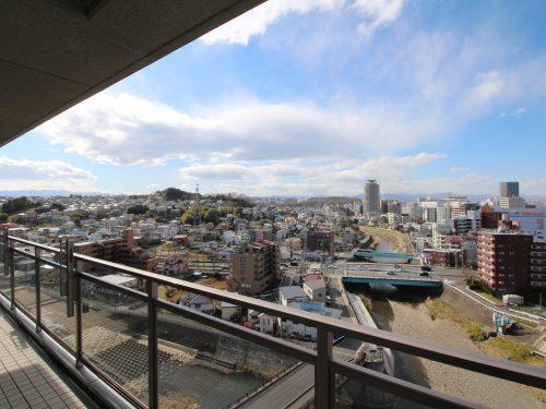 聖蹟桜ヶ丘の街や多摩川の流れから周辺が一望できます!
