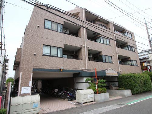 平成7年築の外観タイル貼りのマンション!(外観)